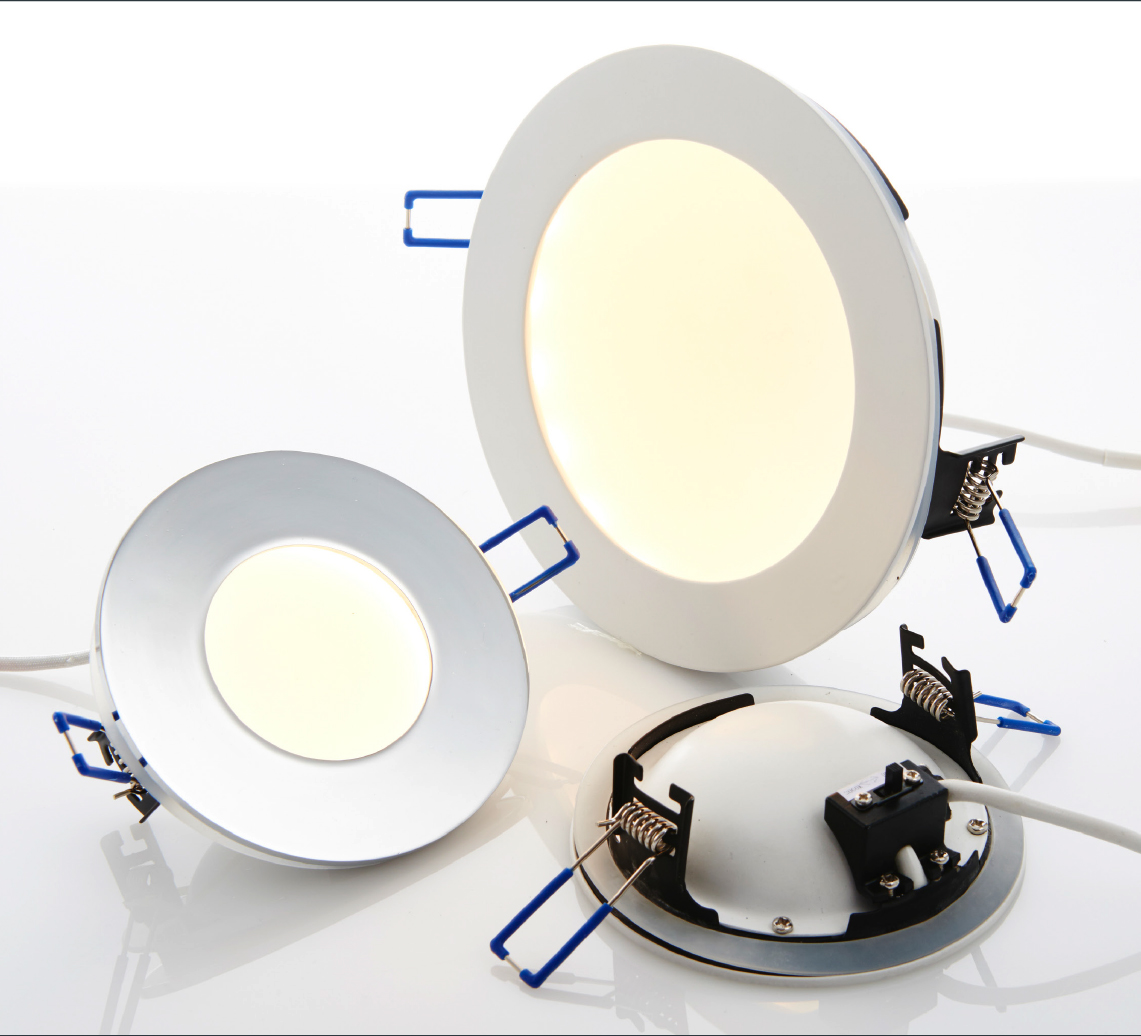 Fire rated downlight range